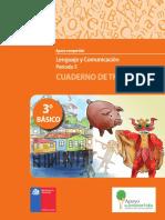 3° Básico Lenguaje y Comprensión Cuaderno de Trabajo Periodo 5