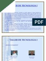 Proyecto Taller I - 2017 I