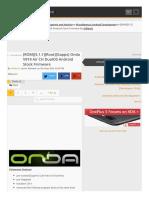 Rom 5.1.1 Root Gapps Onda v919 Air Ch Da Android