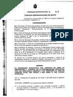 Ordm-012 - Contaminacion Medio Ambiente