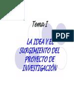 1.2-La Idea y El Proyecto