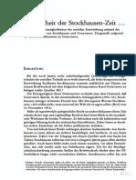 Stockhausen Zeit (Sabbe)