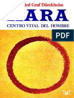 HARA. Centro Vital Del Hombre - Karlfried Graf Durckheim