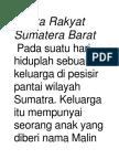Cerita Rakyat Sumatera Bara1