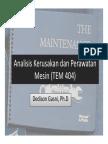 Analisis Kerusakan dan Perawatan Mesin (TEM 404) - Pertemuan 1.pdf