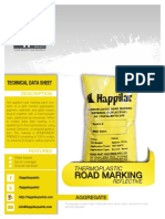 Road Liner Thermoplastic