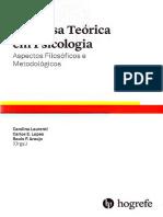 Pesquisa Teórica Em Psicologia, Aspectos Filosóficos e Metodológicos - Laurenti, Lopes & Araújo (Orgs) 2016 [INDEX]