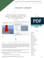 Placas de Asiento I_ Criterios de Diseño y Compresión Simple - Hoja de Cálculo Descargable - Blog de Ingeniería y Arquitectura _ El Blog de Zigurat