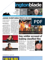 washblade.com – vol. 41, issue 32 – August 6, 2010