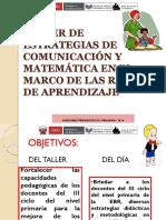 TALLER DE ESTRATEGIAS MATE Y COMU.ppt