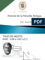 Historia de la Filosofía Antigua