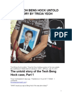 TEOH BENG HOCK - THE UNTOLD STORY BY TRICIA YEOH