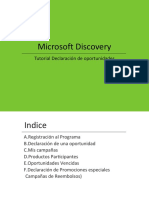 Microsoft Discovery Tutorial Es