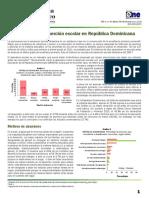 Deserción Escolar en República Dominicana