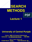 RMM Lecture 1 Introduction UCP (ZAIN_AQEEL-PC's Conflicted Copy 2012-10-20)