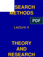 RMM Lecture 4 Theory and Research