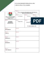 Format Baku Standar Prosedur Operasional