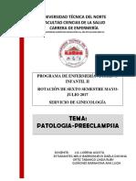 patoligia-preeclampsia