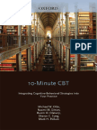 10-Minute CBT Integrating Cognitive-Behavioral Strategies Into Your Practice