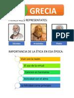 Principales Representates de la Filosofía