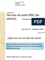 Ayudantía -Normas APA