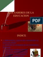 LOS SABERES DE LA EDUCACION.pptx