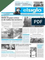 Edicion Impresa El Siglo 20-07-2017