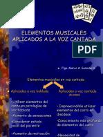 Elementos de La Voz Cantada