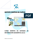Interface de Arcgis 10.2
