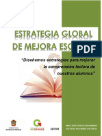Estrategia Global Comprensión Lectora