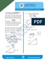 Identidades Trigonometricas Del Arco Compuesto