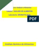 Analisis Quimico de Alimentos 2015
