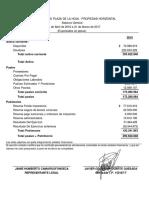 Balance Presupuestal 2016