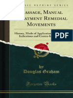 Massage Manual Treatment Remedial Movements History Mode of 1000395094