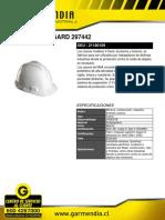 Casco Msa v-gard 297442
