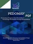 Pedoman Pembukaan Prodi PPG 2017