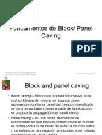 11-Principios de Block Caving