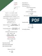 Fórmulas Para Hidráulica de Canales