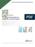9. Financiacion de Su Nuevo Negocio