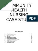 Case Study Community Health Nursing