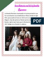 La devastadora historia real de la familia Romanov.docx