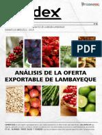 ANALISIS DE LA OFERTA EXPORTABLE DE LAMBAYEQUE