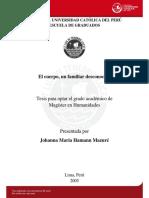 Hamann Mazure Johanna El Cuerpo