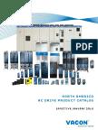 Vacon AC Drive US Version Product Catalog BC00324C(2)