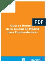 Guia de Recursos Madrid Emprendededores