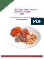 Guide .Peruvian Restaurants in United States.
