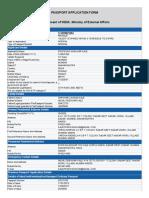 Pratiksha Shekhar Kale Passport Form