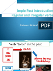 Verb to Be Simple Past