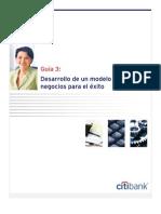 3. Desarrollo de Un Modelo de Negocios Para El Exito