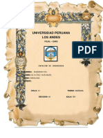 Informe de La Cruz Yauri Mijael